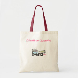 DivaGlam Cosmetics Budget Tote Bag