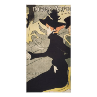 Divan Japonais by Henri de Toulouse-Lautrec Photo Cards