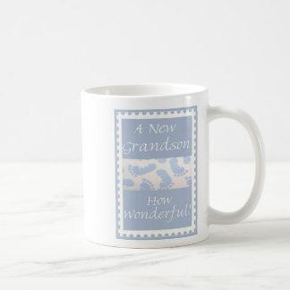 Diva's Gift for New Grandparents-A New Grandson! Mug