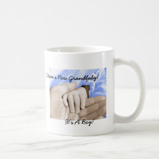 Diva's Gift for New Grandparents-It's a Boy! Mugs