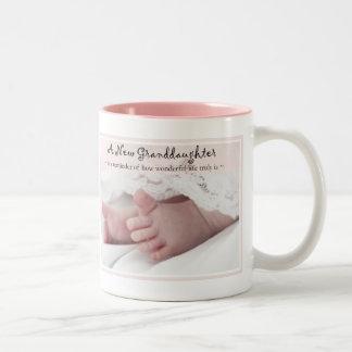 Diva's Gift for New Grandparents-It's a Girl! Mugs