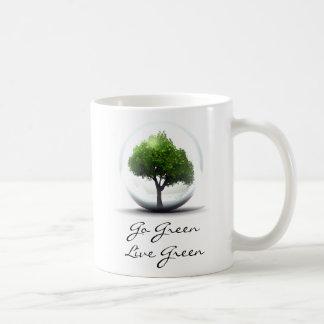 Diva's Go Green, Live Green Mug