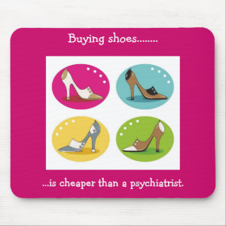 Diva's Love Shoes Mousepad