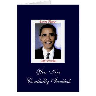 Diva's Obama Inauguration Party Invitation