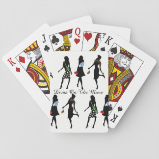 Divas On The Move - Deck of Playing Cards