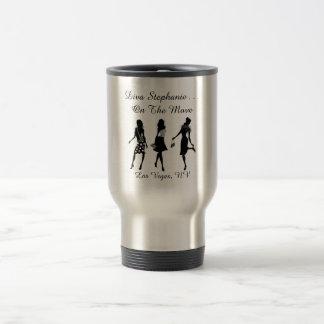 Divas On The Move - Stainless Steel Travel Mug