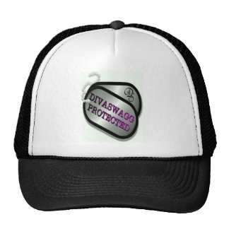 DIVASWAGG PROTECTED DOG TAGS CAP