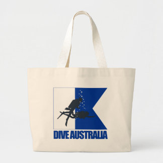 Dive Australia Large Tote Bag