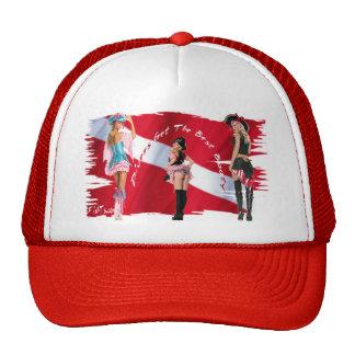 Dive Babes Mesh Hat
