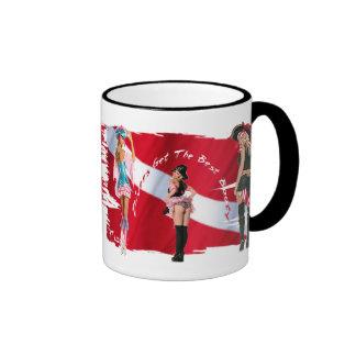 Dive Babes Ringer Mug
