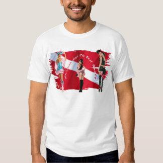 Dive Babes T Shirts