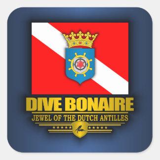 Dive Bonaire 2 Square Sticker