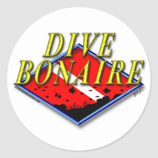 Dive Bonaire Sticker