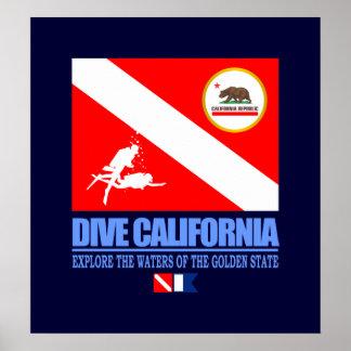 Dive California Poster