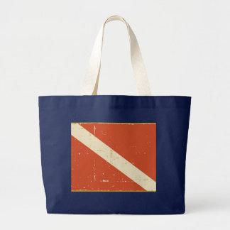 Dive Flag Jumbo Tote Bag