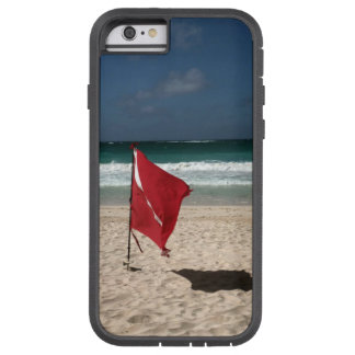 Dive Flag on the Beach Tough Xtreme iPhone 6 Case