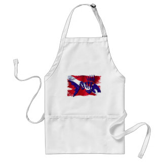 Dive Flags with Gear Adult Apron