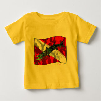 Dive Flags with Gear Baby T-Shirt
