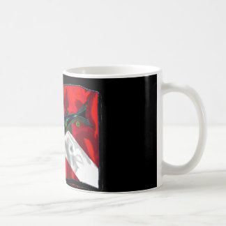 Dive Flags with Gear Coffee Mug