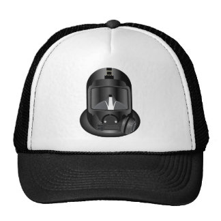 Dive Helmet - Black Mesh Hat
