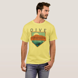 Dive Horsetooth Reservoir Badge T-Shirt