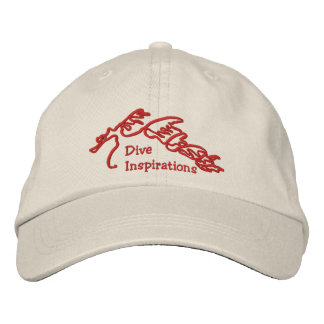 Dive Inspirations Sea Dragon Logo Hat
