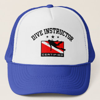 Dive Instructor Trucker Hat
