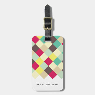 Dive Into Color Luggage Tag