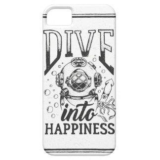 Dive into happiness motivational scuba diving case for the iPhone 5