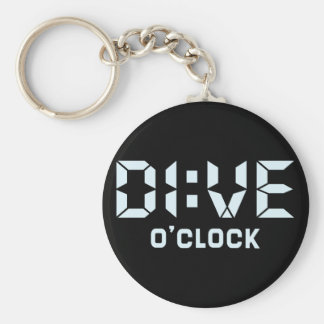 Dive O'Clock Key Ring