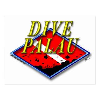 Dive Palau Postcard