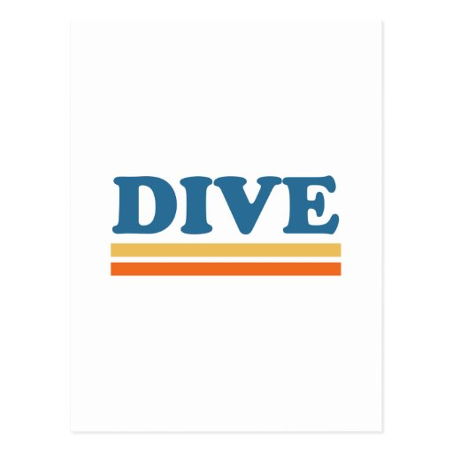 dive post cards