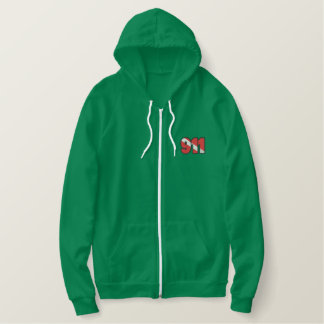 Dive Rescue Logo Embroidered Hoodie