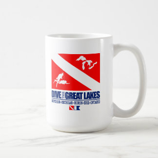 Dive The Great Lakes Coffee Mug