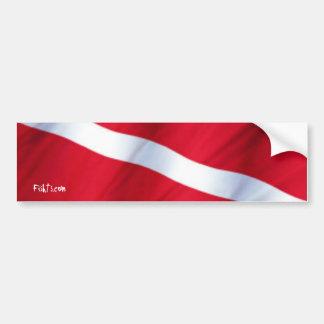 DiveFlag Bumper Sticker