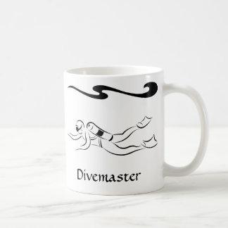 Divemaster Basic White Mug