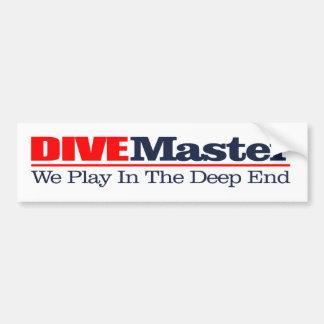DIVEMaster Bumper Sticker