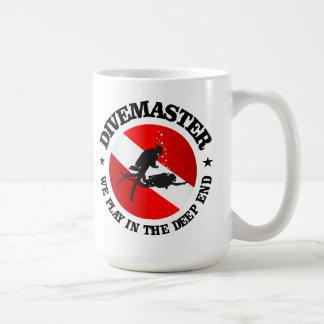 Divemaster (Deep End) Basic White Mug