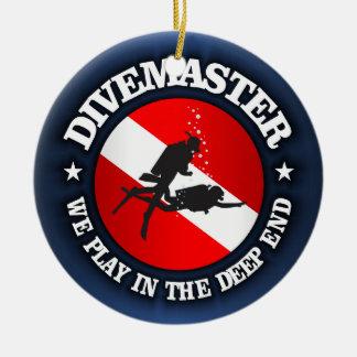 Divemaster (Deep End) Round Ceramic Decoration