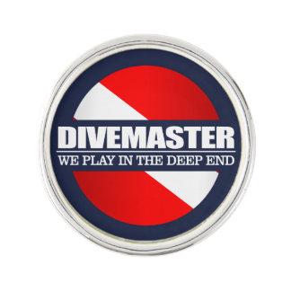 Divemaster (rd) lapel pin