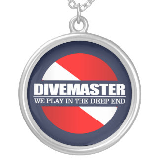 Divemaster (rd) round pendant necklace