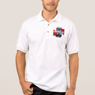 Divemaster (Scuba Tanks) Apparel Polo Shirt