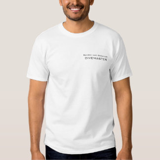 DIVEMASTER, Search and Recovery Tee Shirts
