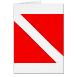 DIVER DOWN CARD