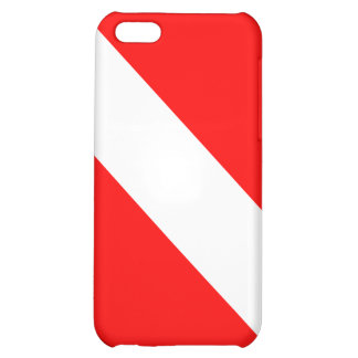 Diver Down Classic Flag Cover For iPhone 5C