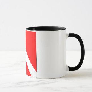Diver Down Classic Flag Mug