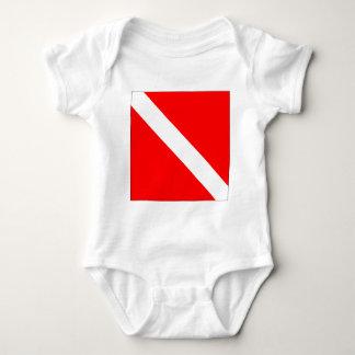 Diver Down Classic Flag T-shirts