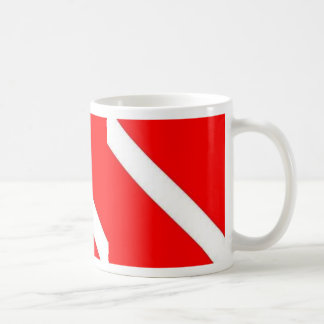 DIVER DOWN COFFEE CUP