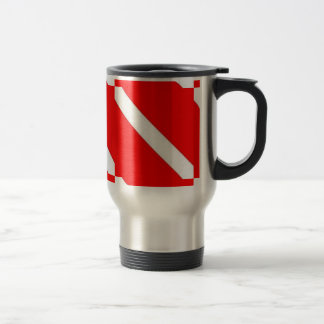 DIVER DOWN COFFEE CUP - great for travel! Stainless Steel Travel Mug