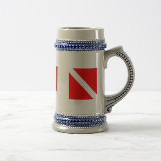DIVER DOWN COFFEE CUP - great for travel! Beer Steins